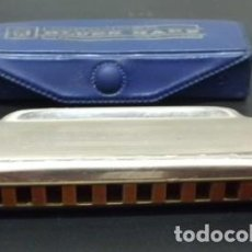 Instrumentos musicales: HARMONICA BLUES HARP DE HOHNER. LETRA D. CON ESTUCHE HARMONICA-73. Lote 132561862