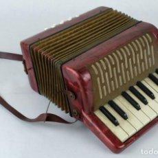 Instrumentos musicales: ACORDEON HOHNER MIGNONI AÑOS 50-60. Lote 132656470