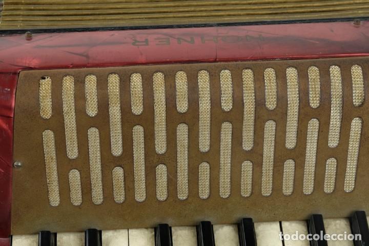 Instrumentos musicales: Acordeon Hohner Mignoni años 50-60 - Foto 9 - 132656470
