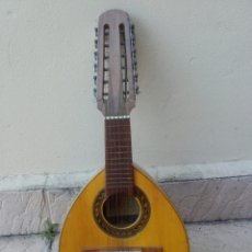 Instrumentos musicales: ANTIGUA BANDURRIA, ROCA, VALENCIA, CON ETIQUETA, BUEN ESTADO Y FUNDA DE TELA. Lote 133085101