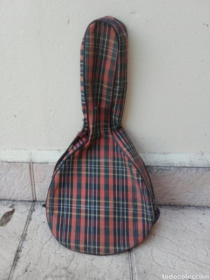 Instrumentos musicales: ANTIGUA BANDURRIA, ROCA, VALENCIA, CON ETIQUETA, BUEN ESTADO Y FUNDA DE TELA - Foto 5 - 133085101