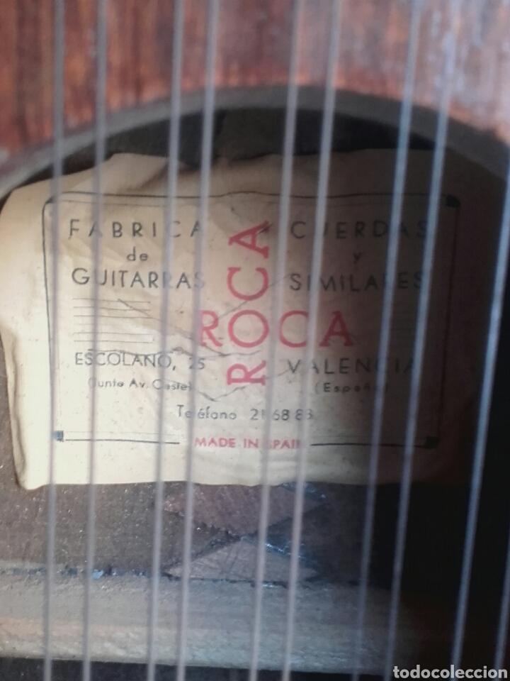 Instrumentos musicales: ANTIGUA BANDURRIA, ROCA, VALENCIA, CON ETIQUETA, BUEN ESTADO Y FUNDA DE TELA - Foto 6 - 133085101