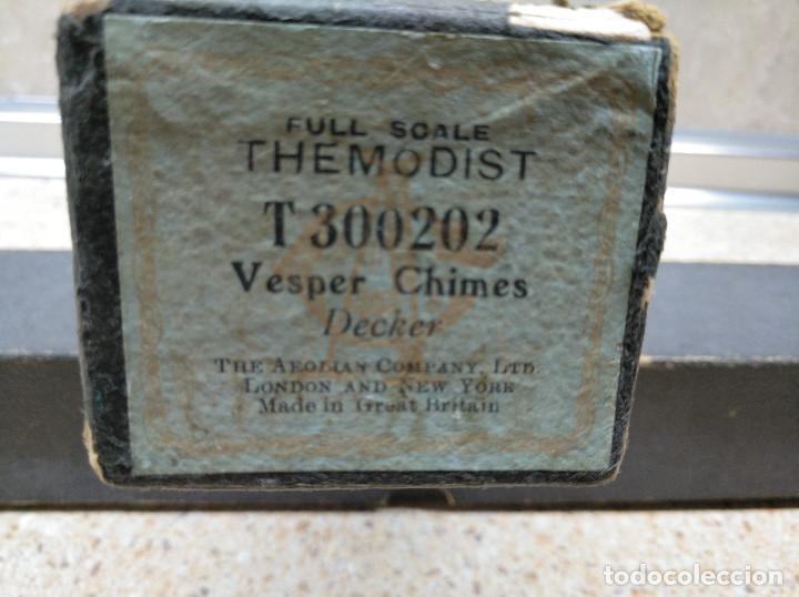 Instrumentos musicales: TRES ROLLOS DE PARTITURA PARA PIANOLA TIPO VICTORIA EN SUS CAJAS ORIGINALES. - Foto 20 - 133449686