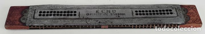 ARMÓNICA M. HOHNER. ECHO GLOCKENREINE STIMMUNG. 15 PULGADAS. AÑOS 60. (Música - Instrumentos Musicales - Viento Madera)