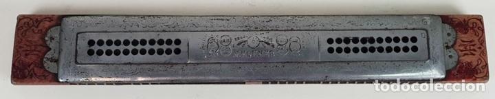 Instrumentos musicales: ARMÓNICA M. HOHNER. ECHO GLOCKENREINE STIMMUNG. 15 PULGADAS. AÑOS 60. - Foto 5 - 133619554