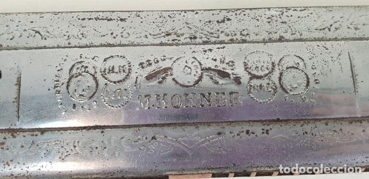 Instrumentos musicales: ARMÓNICA M. HOHNER. ECHO GLOCKENREINE STIMMUNG. 15 PULGADAS. AÑOS 60. - Foto 9 - 133619554