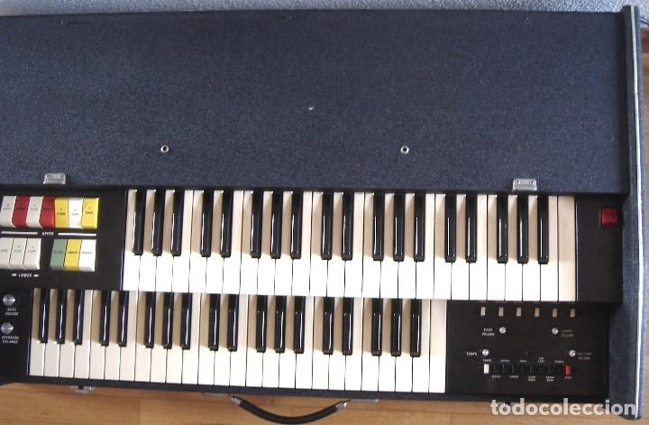 Instrumentos musicales: ORGANO TECLADO - CRB DIAMOND 729-A -MADE IN ITALY 1978 ¡¡FUNCIONANDO¡¡ PIANO AMPLIFICADOR 729A - Foto 3 - 133664922