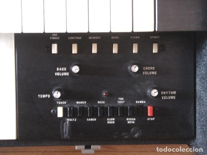 Instrumentos musicales: ORGANO TECLADO - CRB DIAMOND 729-A -MADE IN ITALY 1978 ¡¡FUNCIONANDO¡¡ PIANO AMPLIFICADOR 729A - Foto 7 - 133664922