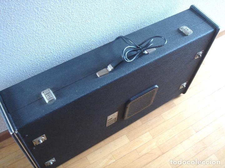 Instrumentos musicales: ORGANO TECLADO - CRB DIAMOND 729-A -MADE IN ITALY 1978 ¡¡FUNCIONANDO¡¡ PIANO AMPLIFICADOR 729A - Foto 8 - 133664922