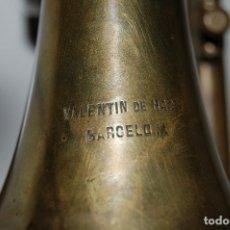 Instrumentos musicales: ANTIGUA CORNETA VALENTIN DE HAAS BARCELONA. Lote 133740002