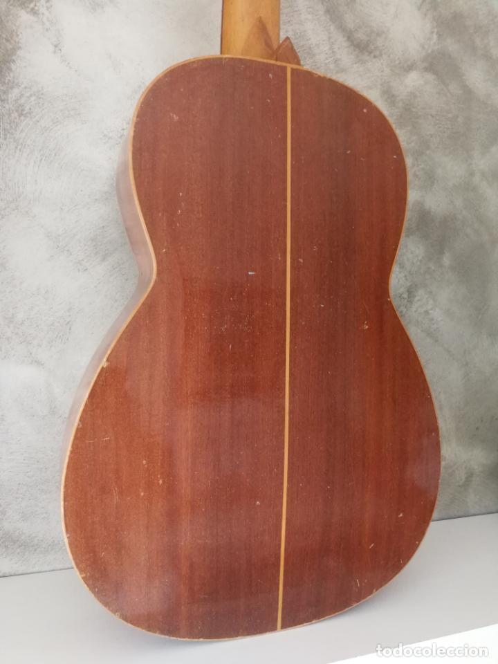 Instrumentos musicales: ANTIGUA GUITARRA ESPAÑOLA ENRIQUE VELIOMAR MADRID - Foto 7 - 133809958