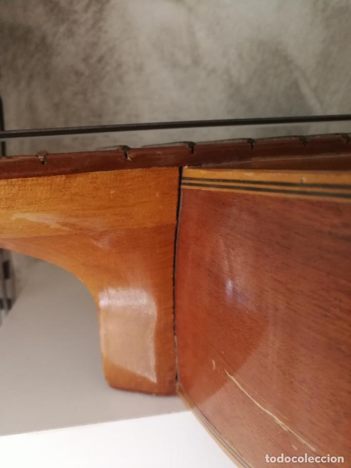 Instrumentos musicales: ANTIGUA GUITARRA ESPAÑOLA ENRIQUE VELIOMAR MADRID - Foto 15 - 133809958