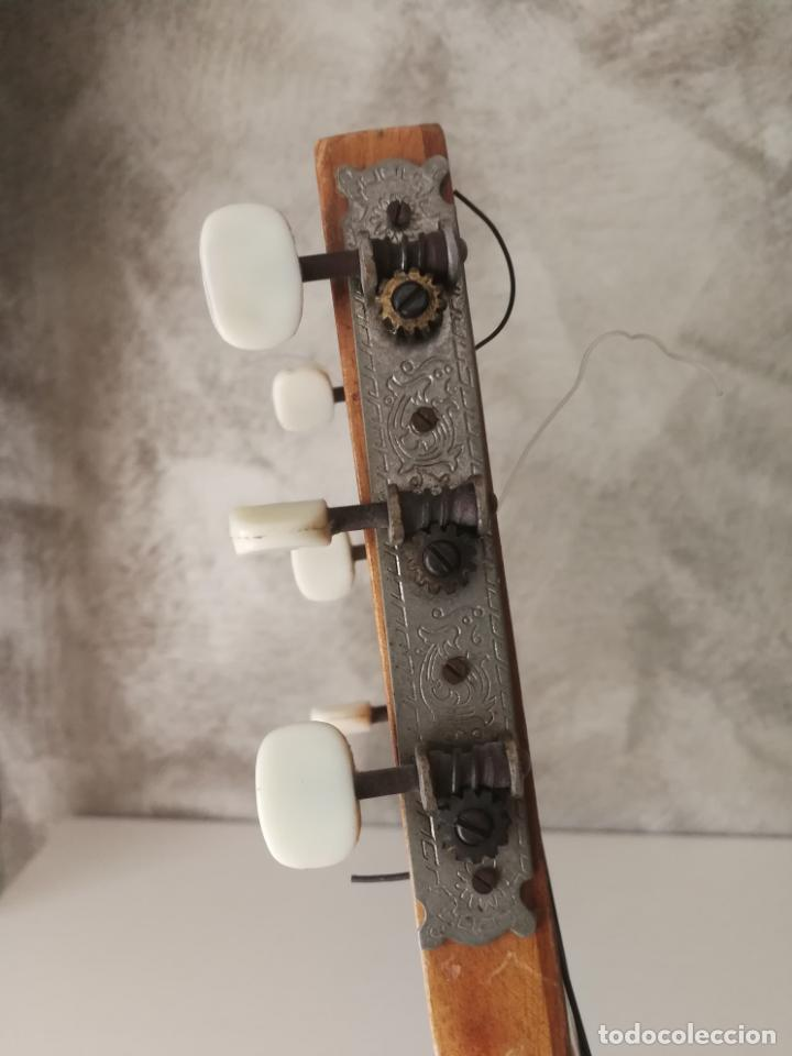 Instrumentos musicales: ANTIGUA GUITARRA ESPAÑOLA ENRIQUE VELIOMAR MADRID - Foto 16 - 133809958