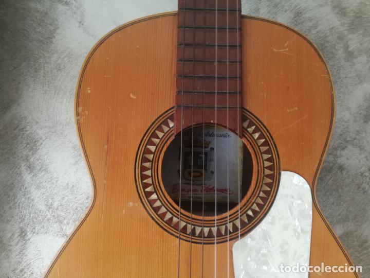 Instrumentos musicales: ANTIGUA GUITARRA ESPAÑOLA ENRIQUE VELIOMAR MADRID - Foto 20 - 133809958