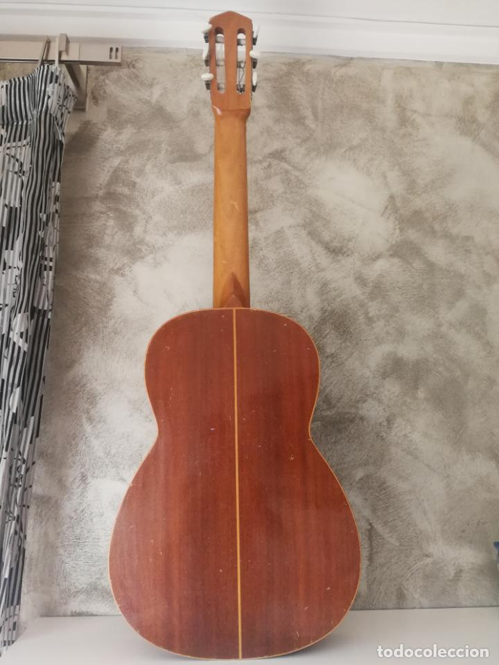 Instrumentos musicales: ANTIGUA GUITARRA ESPAÑOLA ENRIQUE VELIOMAR MADRID - Foto 23 - 133809958