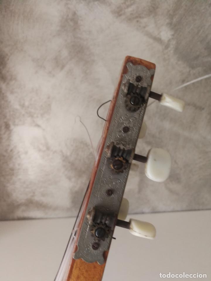 Instrumentos musicales: ANTIGUA GUITARRA ESPAÑOLA ENRIQUE VELIOMAR MADRID - Foto 25 - 133809958
