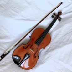 Instrumentos musicales: ANTIGUO VIOLIN 3/4 H. BLAISE MIRECOURT REVISADO Y EN ESTADO DE USO CON FUNDA Y ARCO. Lote 134083353