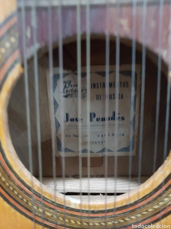 Instrumentos musicales: Bandurria valenciana Jose Penades - Foto 2 - 134508705