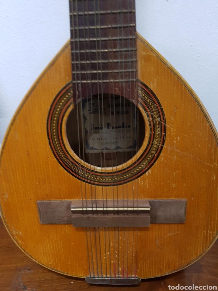 Instrumentos musicales: Bandurria valenciana Jose Penades - Foto 3 - 134508705