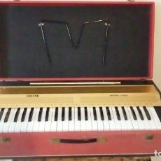 Instrumentos musicales: RARO ORGANO PIANO PORTATIL MALETA ELECTRICO - ELECTRA MUSIKUS STUDIO -. Lote 135477846