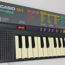 Instrumentos musicales: TECLADO CASIO - SONGBANK,KEYBOARD,SA-35 - FUNCIONANDO - CAR69. Lote 136089050