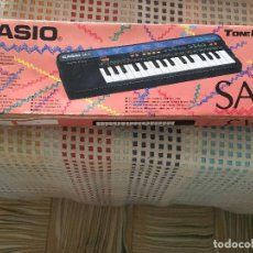 Instrumentos musicales: TECLADO PIANO CASIO TONE BANK KEYBOARD SA-3 SA3 EN CAJA Y CON MANUALES KREATEN ORGANILLO ORGANO KREA. Lote 136194542