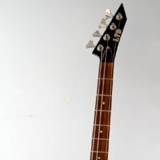 Instrumentos musicales: BAJO ELECTRICO ACTIVO ESP EX-104 NEGRO BRILLANTE TIPO EXPLORER O JACKSON KELLY EX104 EX 104 LTD. Lote 136587954