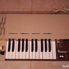 Instrumentos musicales: ÓRGANO BONTEMPI AÑOS 70S, 80S VINTAGE FUNCIONA PERFECTAMENTE. Lote 144901565