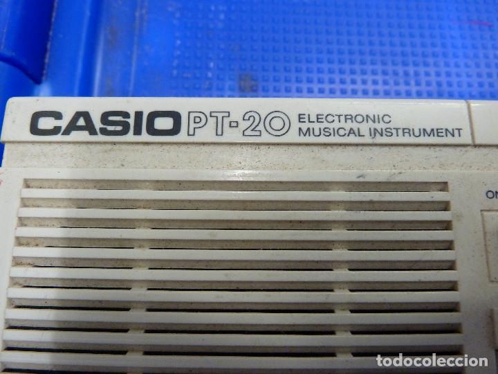 Instrumentos musicales: TECLADO CASIO PT-20 - Foto 3 - 136813166