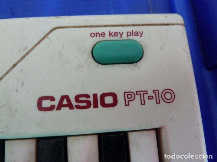 Instrumentos musicales: TECLADO CASIO PT-10 - Foto 2 - 138612514