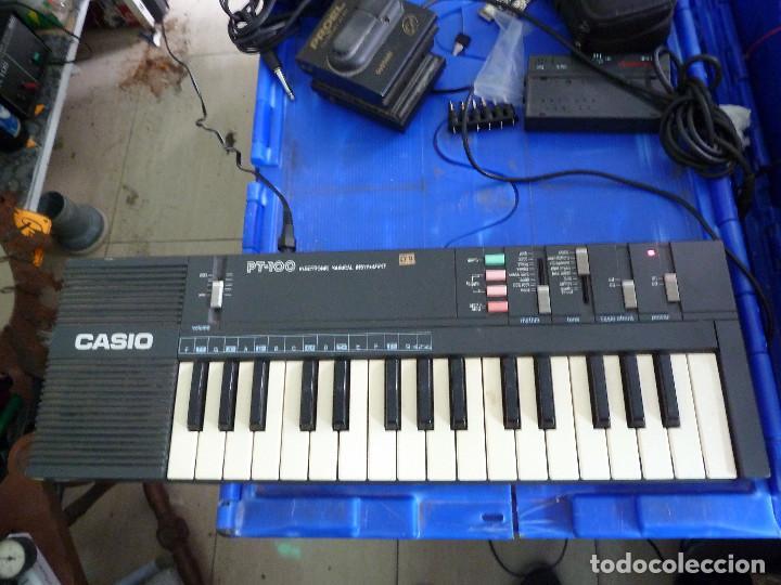 TECLADO CASIO PT-100 (Música - Instrumentos Musicales - Teclados Eléctricos y Digitales)