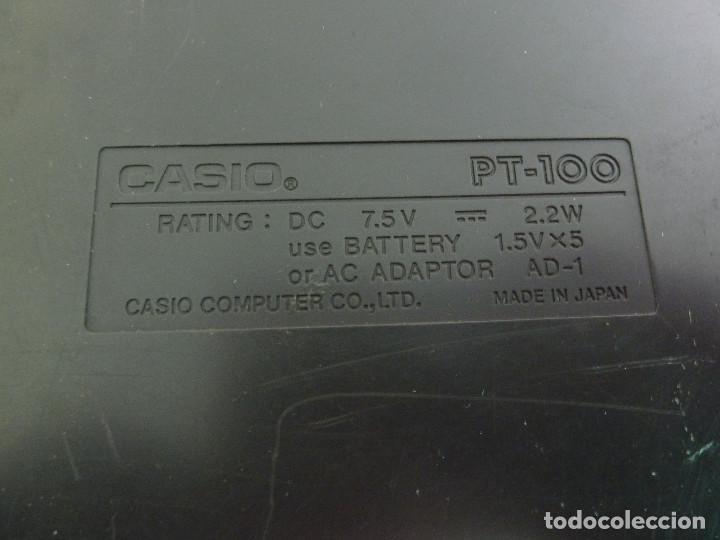 Instrumentos musicales: TECLADO CASIO PT-100 - Foto 6 - 222568661
