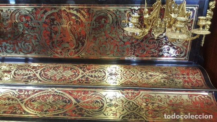 Instrumentos musicales: Piano boulle Napoleón III. Espectacular. Piano antiguo siglo XIX. - Foto 3 - 5538763