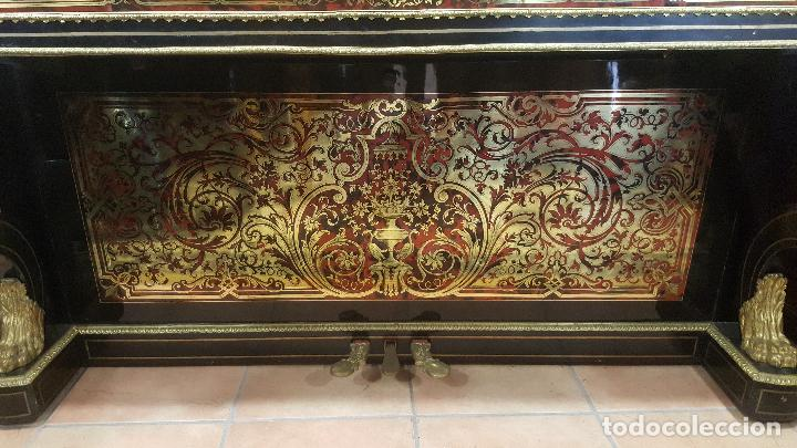Instrumentos musicales: Piano boulle Napoleón III. Espectacular. Piano antiguo siglo XIX. - Foto 4 - 5538763