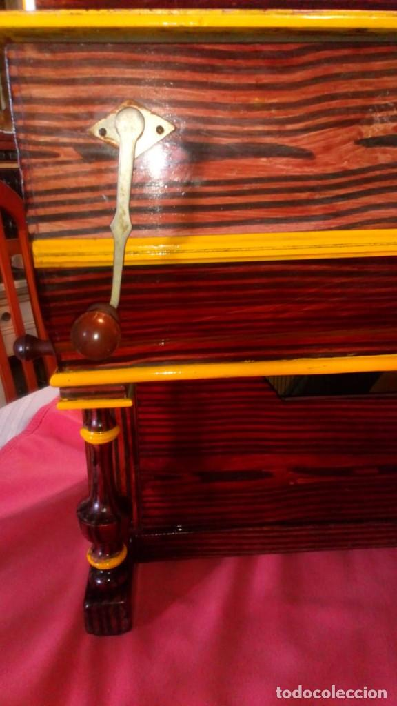 Instrumentos musicales: ORGANILLO MADRILEÑO FAVENTIA ORGANILLO DE VICENTE LLINARES FAVENTIA - Foto 19 - 138832690