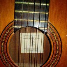 Instrumentos musicales: GUITARRA GABRIELA CASAS VIUDA DE VICENTE CARRILLO. Lote 138967574