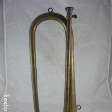 Instrumentos musicales: CORNETA UNIÓN MUSICAL ESPAÑOLA MADRID - 40CM - FUNCIONA. Lote 139167926