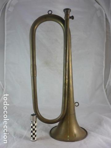 Instrumentos musicales: Corneta Unión Musical Española Madrid - 40cm - Funciona - Foto 2 - 139167926