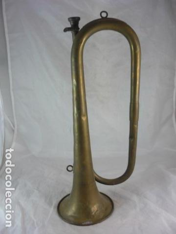 Instrumentos musicales: Corneta Unión Musical Española Madrid - 40cm - Funciona - Foto 3 - 139167926