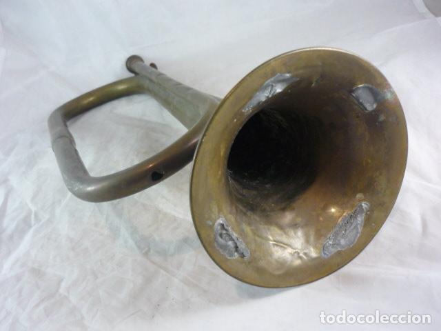 Instrumentos musicales: Corneta Unión Musical Española Madrid - 40cm - Funciona - Foto 8 - 139167926