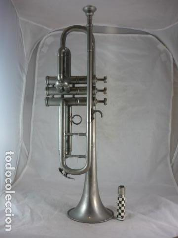 Instrumentos musicales: Trompeta Nadir - 50cm - Completa - Foto 8 - 139168570