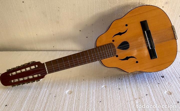 Instrumentos musicales: ANTIGUO LAUD - Foto 4 - 139222022