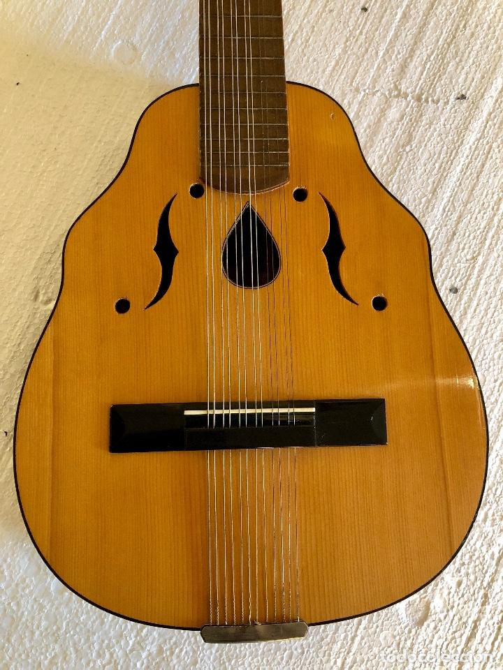 Instrumentos musicales: ANTIGUO LAUD - Foto 8 - 139222022