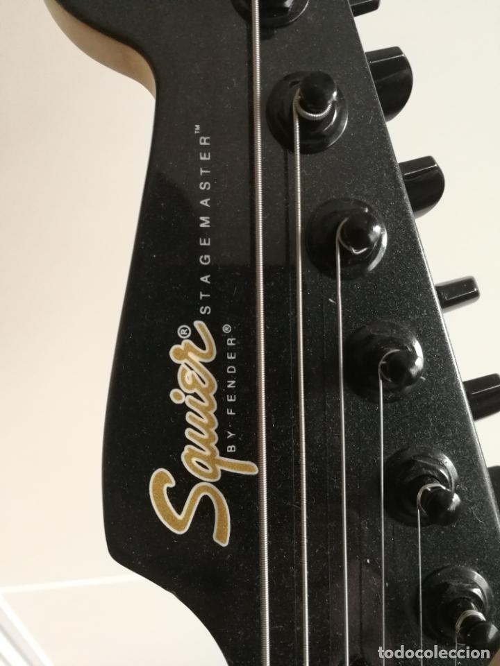 Instrumentos musicales: GUITARRA ELÉCTRICA SQUIER STAGEMASTER BY FENDER CON SEYMOUR DUNCAN - Foto 3 - 139436018