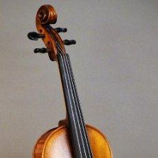 Instrumentos musicales: VIOLÍN 4/4 ESCUELA ALEMANA, ESTUCHE Y ARCO. Lote 139624294