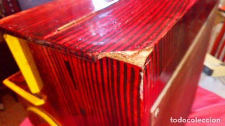 Instrumentos musicales: ORGANILLO MADRILEÑO FAVENTIA ORGANILLO DE VICENTE LLINARES FAVENTIA - Foto 4 - 138832690