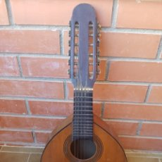 Instrumentos musicales: ANTIGUA BANDURRIA JUAN ESTRUCH. Lote 139703322
