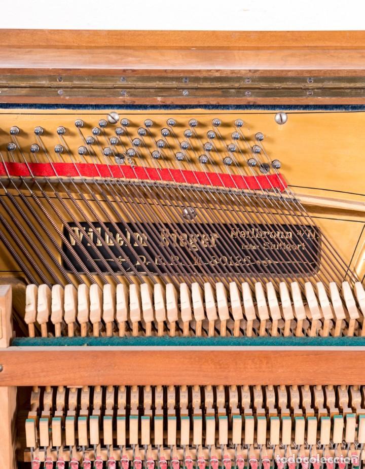 Instrumentos musicales: Piano Antiguo Alemán Bieger - Foto 4 - 139813746