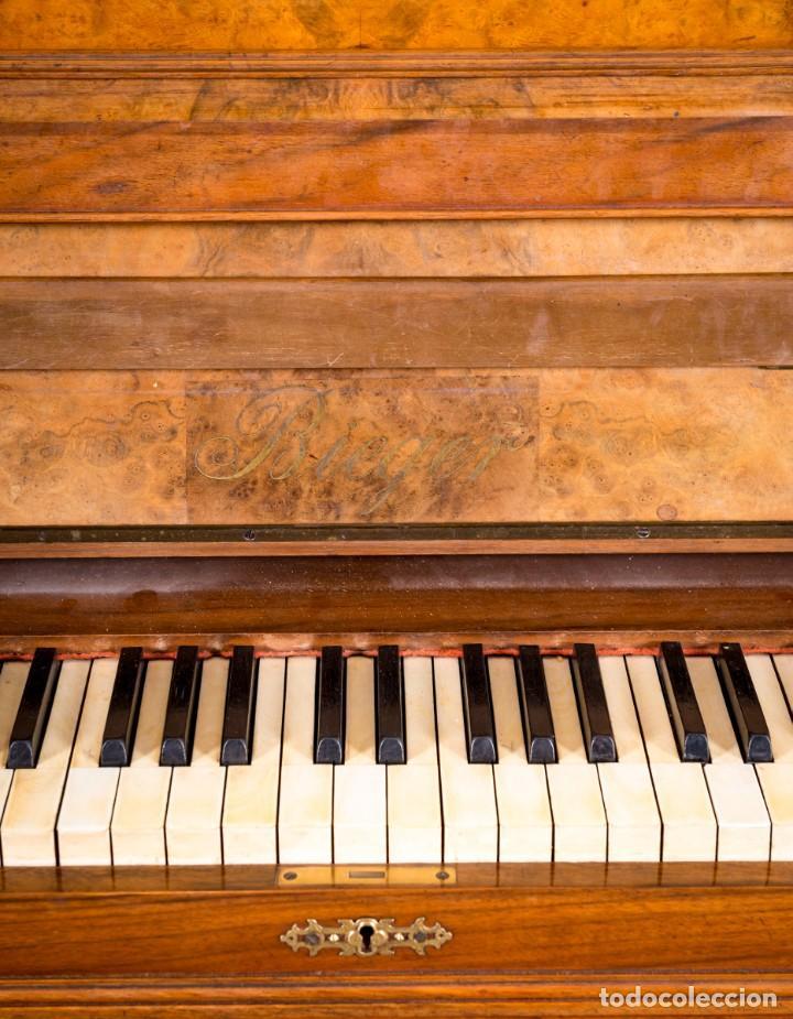 Instrumentos musicales: Piano Antiguo Alemán Bieger - Foto 6 - 139813746
