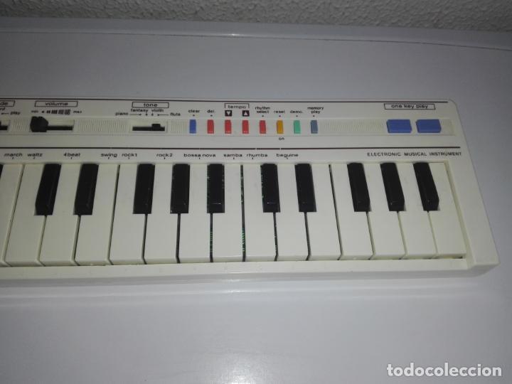Instrumentos musicales: TECLADO piano CASIO PT1 PT-1 BLANCO FUNCIONANDO vintage cg4 - Foto 3 - 140405510
